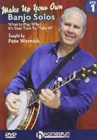 Pete Wernick – Make Up Your Own Banjo Solos Volume 1