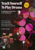 Patrick Wilson – Teach Yourself to Play Drums