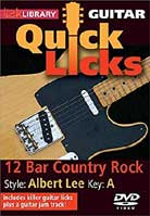 Quick Licks – 12 Bar Country Rock Style Albert Lee