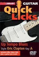 Quick Licks – Up Tempo Blues Style Eric Clapton