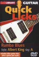 Quick Licks – Rumba Blues Style Albert King