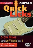 Quick Licks – Slow Blues Style Jeff Beck