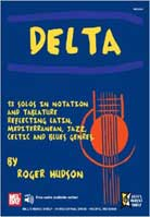Roger Hudson – Delta: 13 Solos In Notation And Tablature