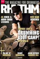 Rhythm magazine April 2014