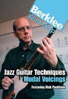 Rick Peckham – Jazz Guitar Techniques: Modal Voicings