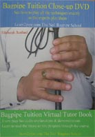 Robert R. Pinkman – Bagpipe Tuition Close-Up DVD & Virtual Tutor Book