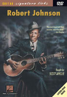 Robert Johnson – Guitar Signature Licks (DVD)