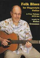 Stefan Grossman – Folk Blues For Fingerstyle Guitar