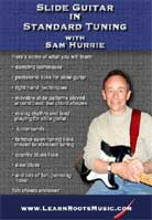 Sam Hurrie – Slide Guitar In Standard Tuning