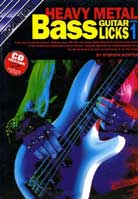 Stephan Richter – Progressive Heavy Metal Bass Guitar Licks Volume 1