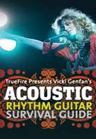 Vicki Genfan – Acoustic Rhythm Guitar Survival Guide