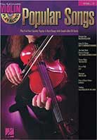 Violin Play-Along Volume 2 – Popular Songs
