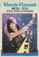 Vinnie Vincent – Metal Tech: Style, Speed & Phrasing